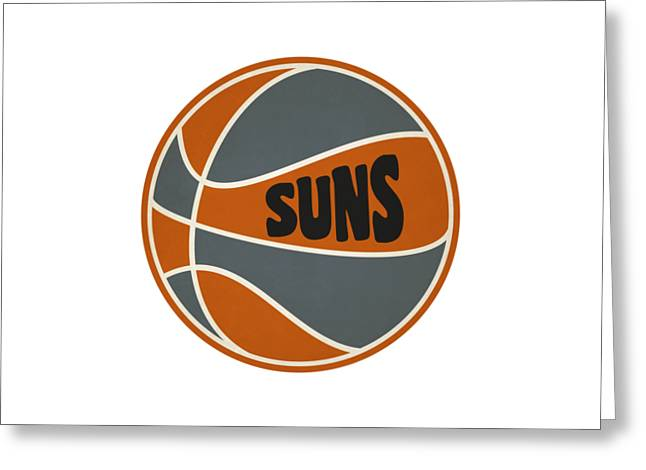 Phoenix Suns Retro Shirt Greeting Card