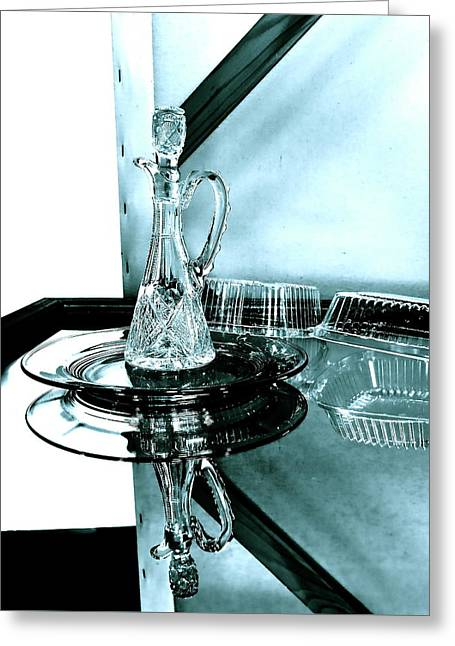 Photo Study Of Still-life Setup Greeting Card by Bonnie See