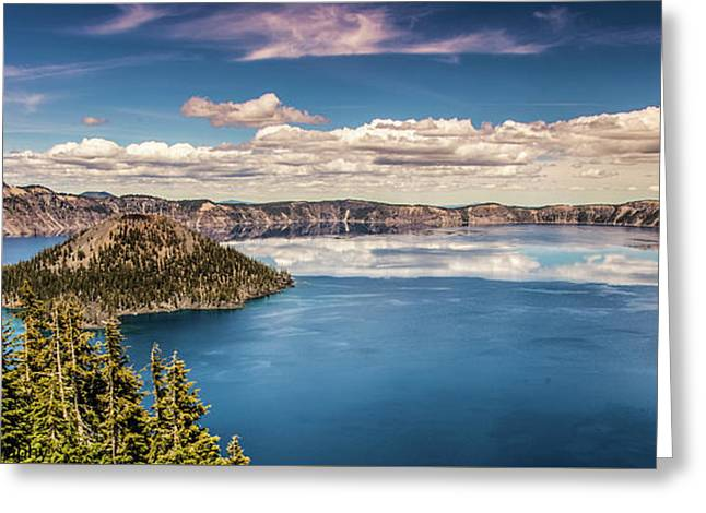 Crater Lake Greeting Card