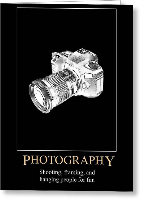 Photography Greeting Card