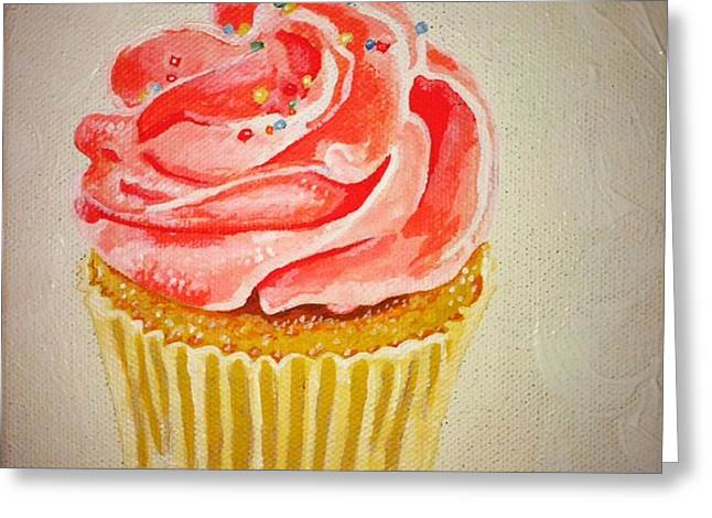 Greeting Card featuring the painting Photorealism by Janelle Dey