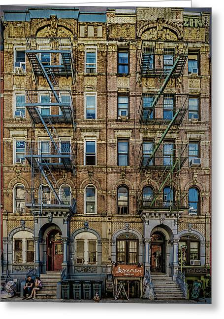 Greeting Card featuring the photograph Physical Graffiti by Chris Lord