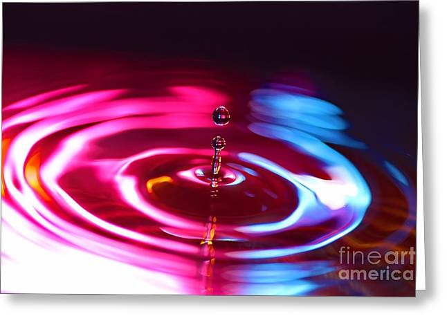 Physics Of Water 1 Greeting Card