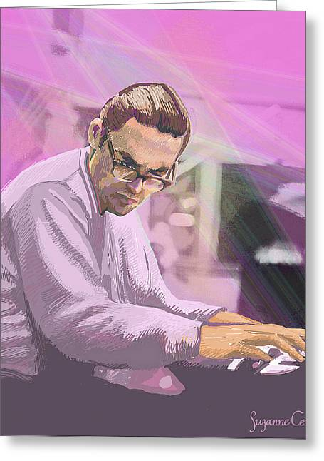 Pianist 2 Greeting Card