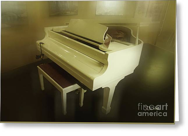 Piano Dream Greeting Card