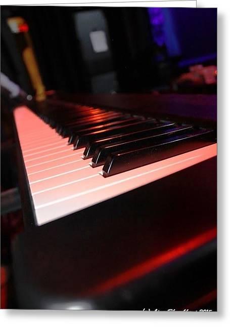 Piano Tunes Greeting Card