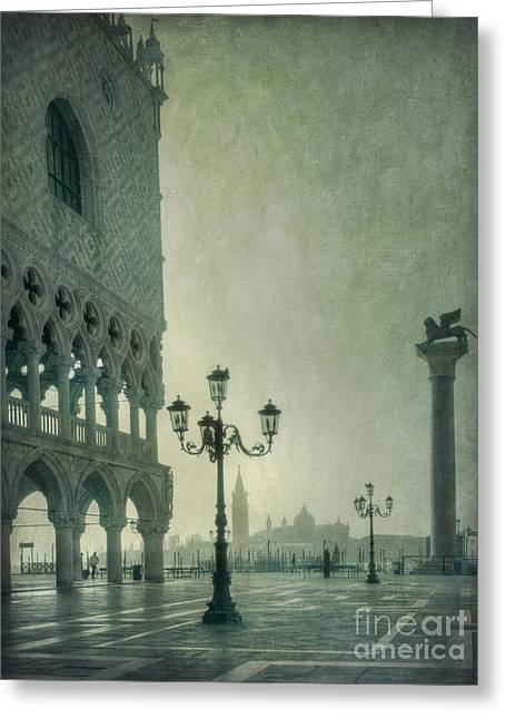 Piazza San Marco 2 Greeting Card by Marion Galt
