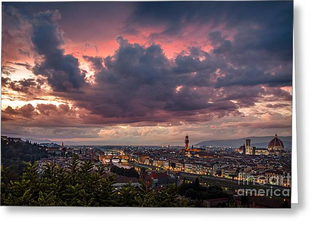 Piazzale Michelangelo Greeting Card
