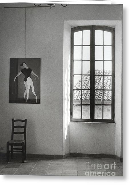 Picasso Museum Greeting Card by Andrea Simon