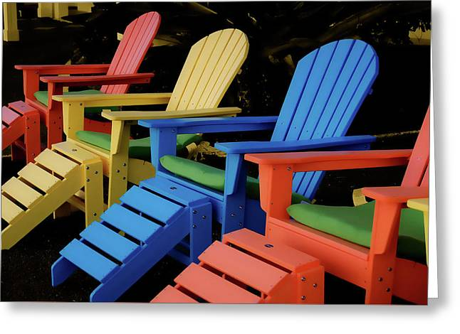 Pick Your Color Greeting Card by JAMART Photography