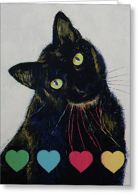 Pick Your Poison Greeting Card by Michael Creese