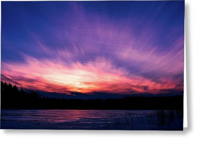 Pickerel Lake Greeting Card
