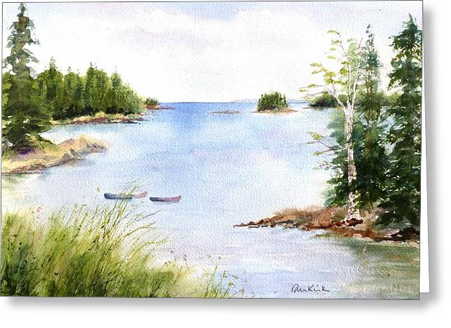 Pickering Cove Greeting Card