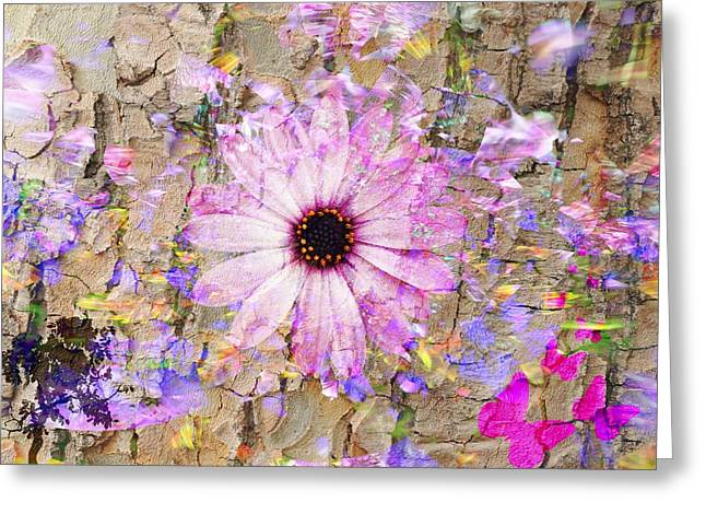 Greeting Card featuring the photograph Pickin Wildflowers by Amanda Eberly-Kudamik