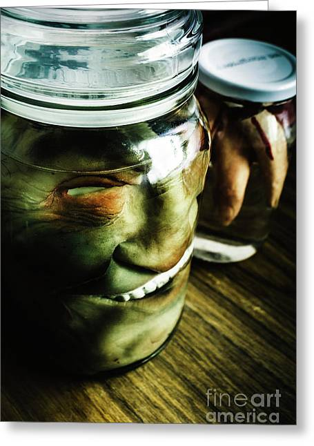 Pickled Monsters Greeting Card by Jorgo Photography - Wall Art Gallery