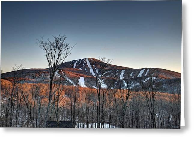 Pico Peak Greeting Card