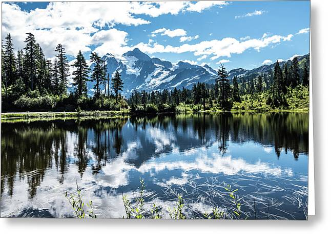 Picture Lake Greeting Card