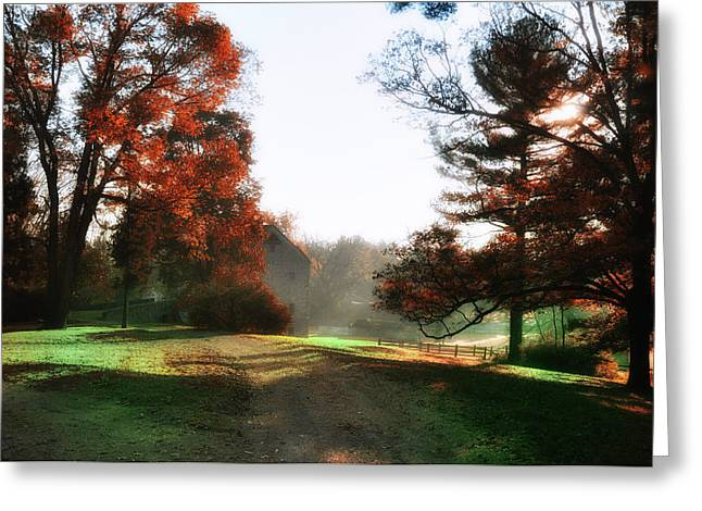 Picture Perfect Morning Greeting Card by Bill Cannon