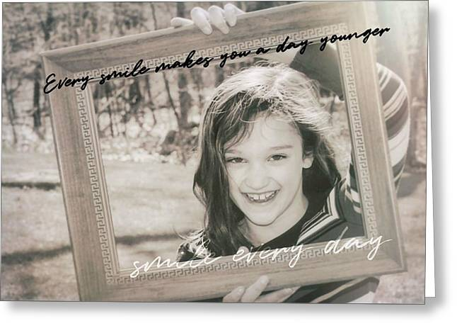 Picture Perfect Quote Greeting Card by JAMART Photography