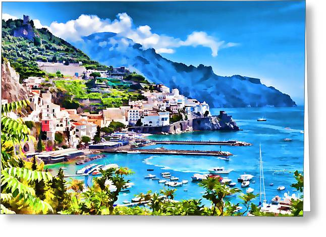 Picturesque Italy Series - Amalfi Greeting Card