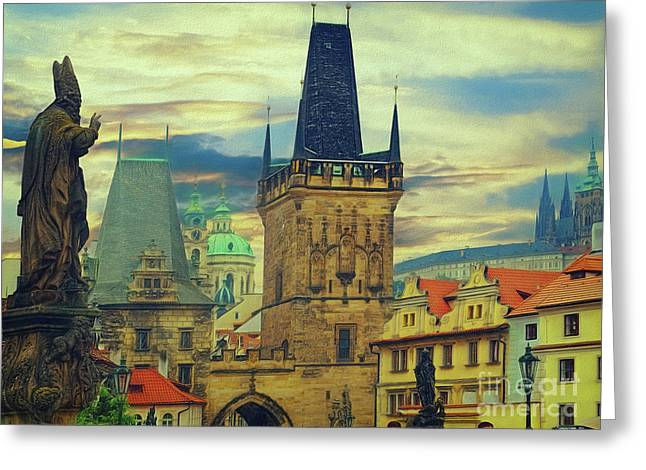 Picturesque - Prague Greeting Card