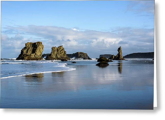 Picturesque Rocks Greeting Card