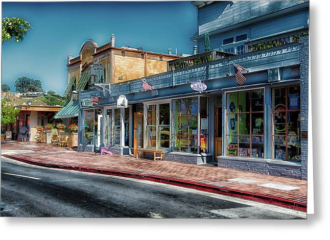 Picturesque Tiburon California Greeting Card by L O C