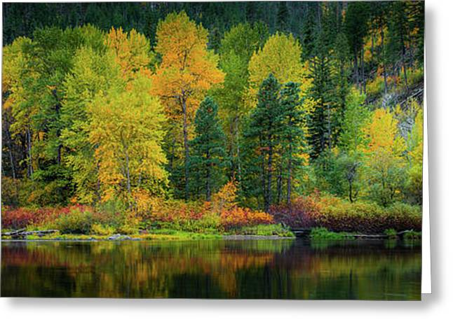 Greeting Card featuring the photograph Picturesque Tumwater Canyon by Dan Mihai