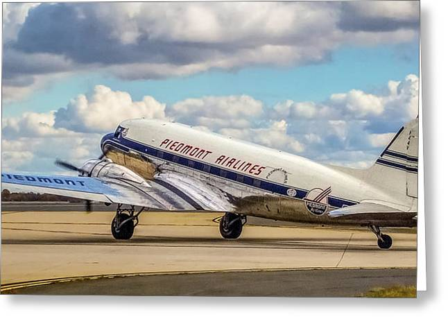 Piedmont Dc-3 Greeting Card