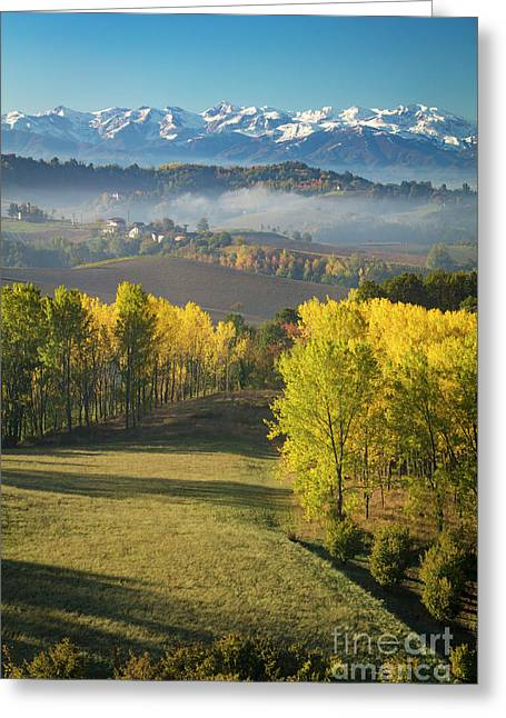 Greeting Card featuring the photograph Piemonte Morning by Brian Jannsen