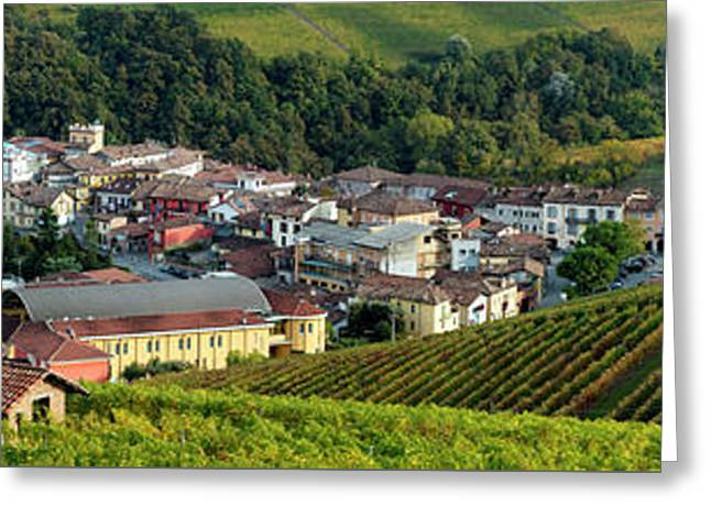 Greeting Card featuring the photograph Piemonte Panoramic by Brian Jannsen