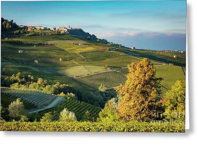 Piemonte View Greeting Card by Brian Jannsen