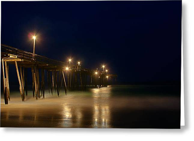 Pier Greeting Card by Andreas Freund