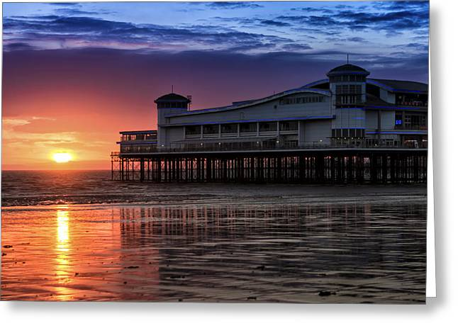 Pier Pressure Greeting Card by William Hole