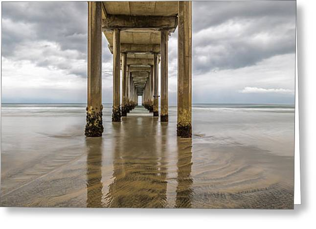 Pier Review Greeting Card