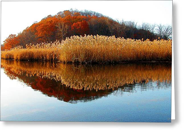 Piermont Backwater Greeting Card