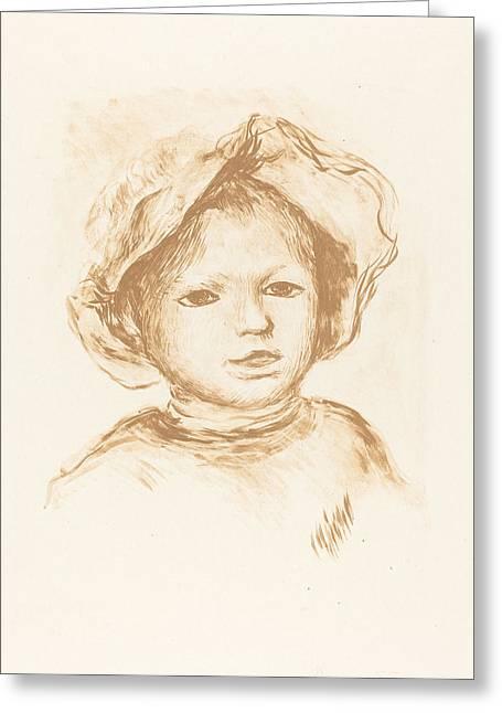 Pierre Renoir Greeting Card by Auguste Renoir