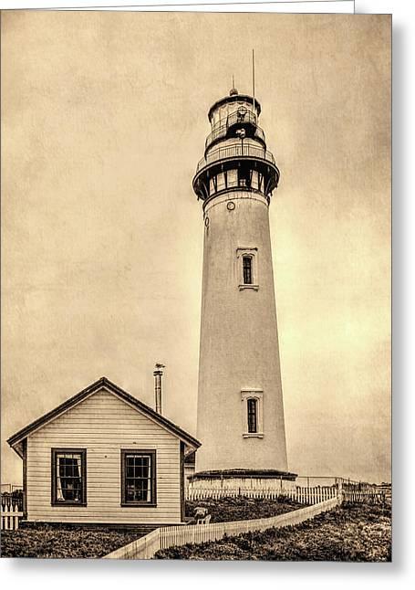 Pigeon Point Light Station Pescadero California Greeting Card