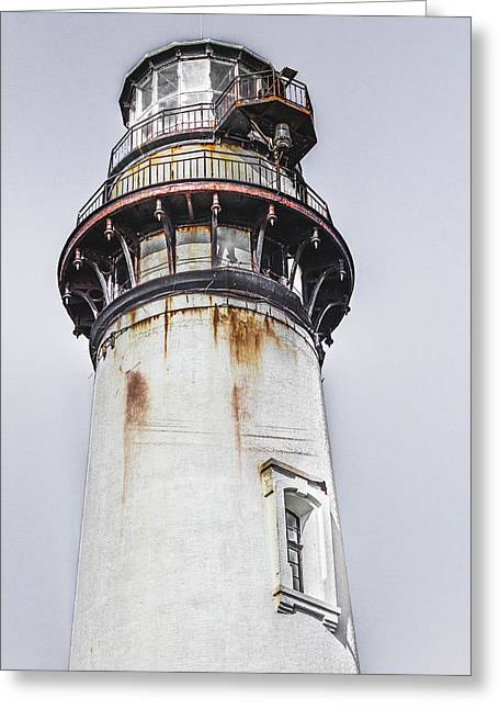 Greeting Card featuring the photograph Pigeon Point Light Station by Randy Bayne