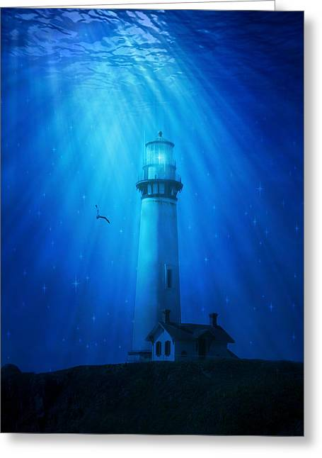 Pigeon Point Submerged Greeting Card