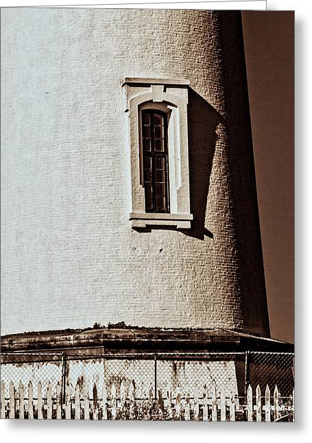 Greeting Card featuring the photograph Pigeon Point Window by Randy Bayne