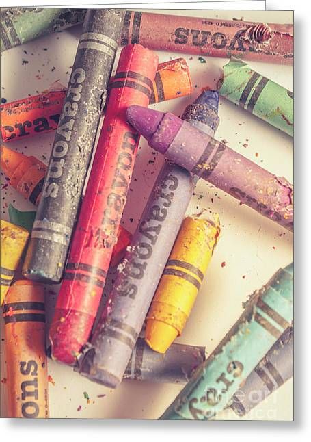 Pigment In Play Greeting Card by Jorgo Photography - Wall Art Gallery