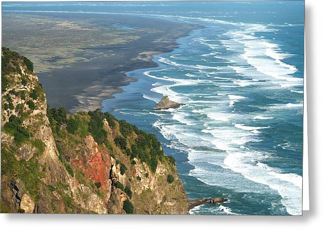 Piha Greeting Card