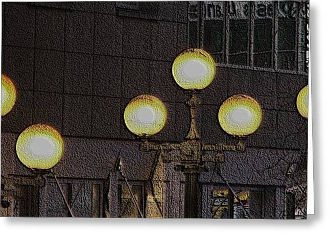 Pike Lights  Greeting Card by Tim Allen