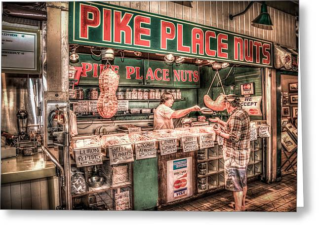 Pike Place Nuts Greeting Card