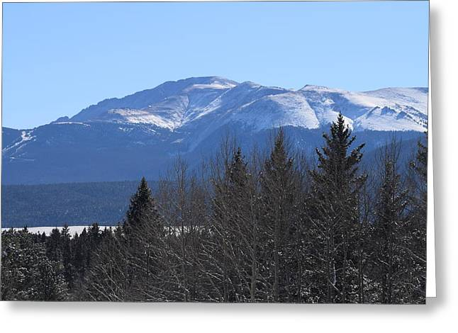 Pikes Peak Cr 511 Divide Co Greeting Card