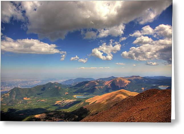 Pikes Peak Summit Greeting Card
