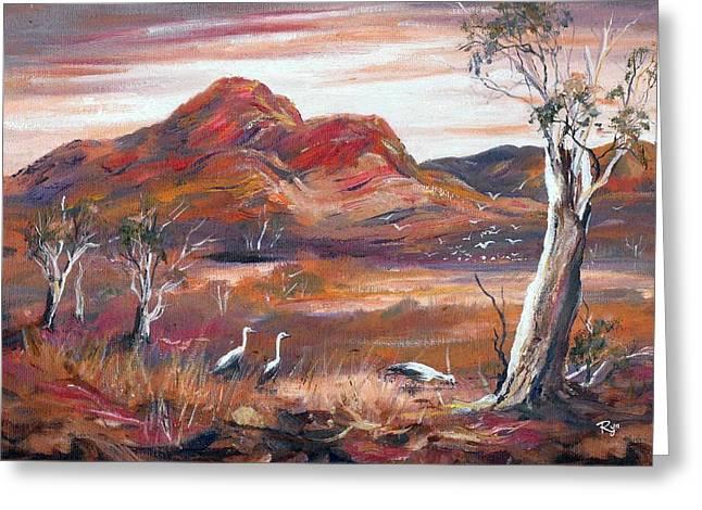 Pilbara, Outback, Western Australia, Greeting Card