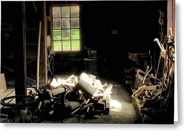 Greeting Card featuring the photograph Pile by Larry Darnell