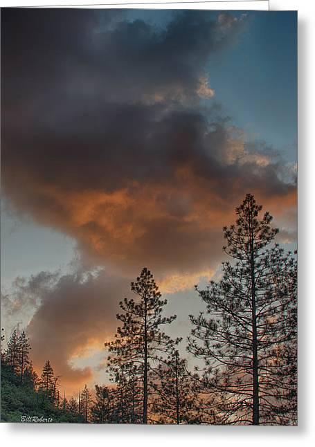 Pillar Of Fire Greeting Card